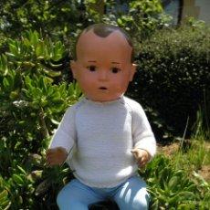 Muñecas Extranjeras: MUÑECO ANTIGUO HÍBRIDO DE MARCA SCHILDKRÖT O TORTUGA, DE 53 CM. Lote 56969293
