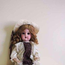 Muñecas Extranjeras: MUÑECA ANTIGUA DE PORCELANA ALEMANA (REPINTADA). Lote 57115871