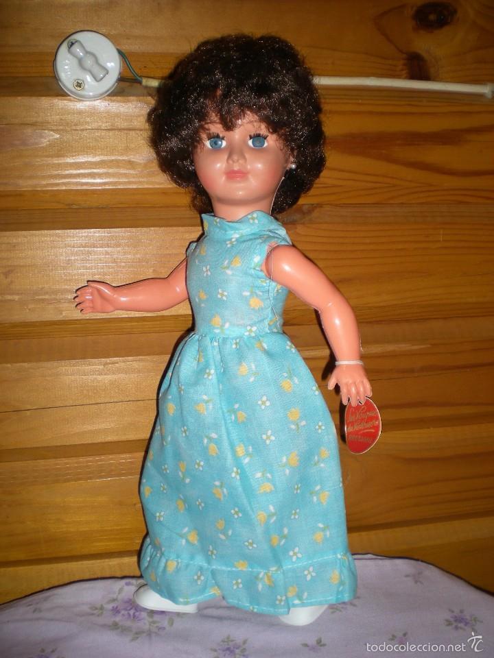 Muñecas Extranjeras: muñeca francesa marca les voupees du venthievre bretagne años 50/60 buen estado 42 cm lleva etiqueta - Foto 3 - 57893531