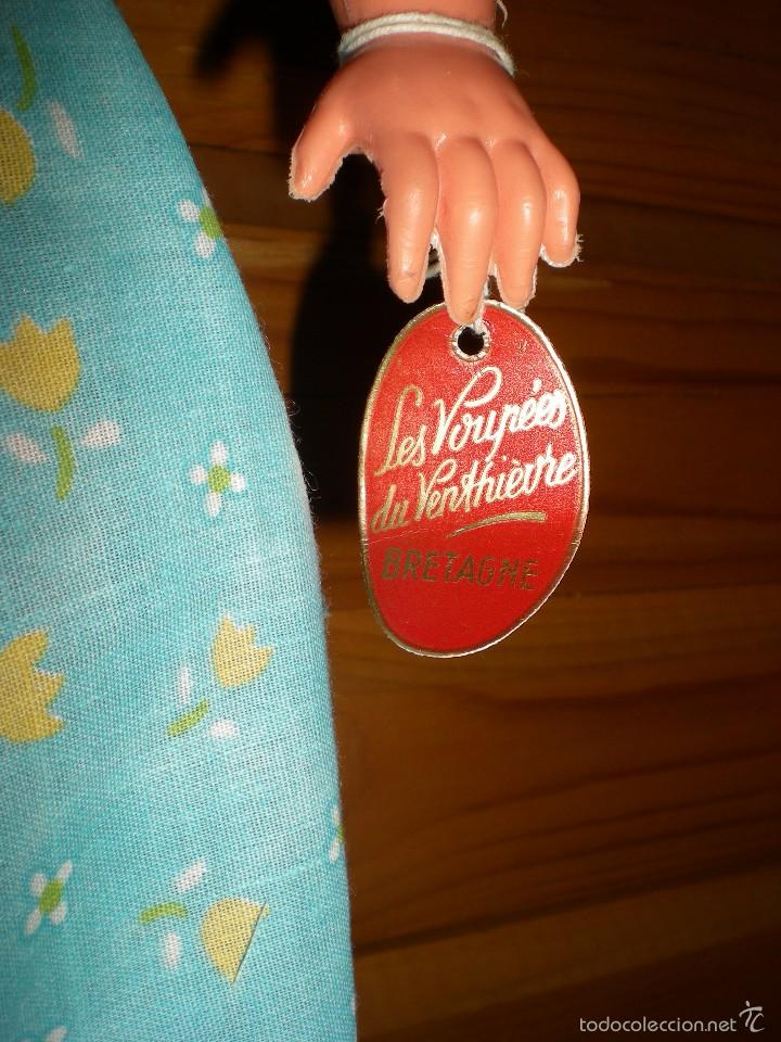 Muñecas Extranjeras: muñeca francesa marca les voupees du venthievre bretagne años 50/60 buen estado 42 cm lleva etiqueta - Foto 4 - 57893531