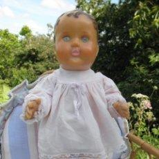 Muñecas Extranjeras: MUÑECO BEBÉ ANTIGUO MARIE LOU DE MORMIT, DE 40 CM FABRICADO EN INGLATERRA. Lote 58550790
