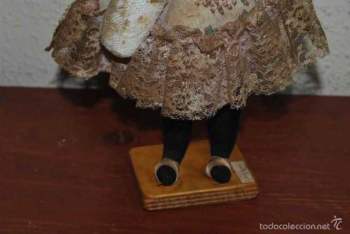 Muñecas Extranjeras: MUÑECA NEGRA DE TELA - CUBA - TRAJE POPULAR - AÑOS 50-60 - Foto 8 - 59068245