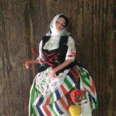 Muñecas Extranjeras: PRECIOSA MUÑECA DE 10 CM CON TRAJE REGIONAL. Lote 60873039