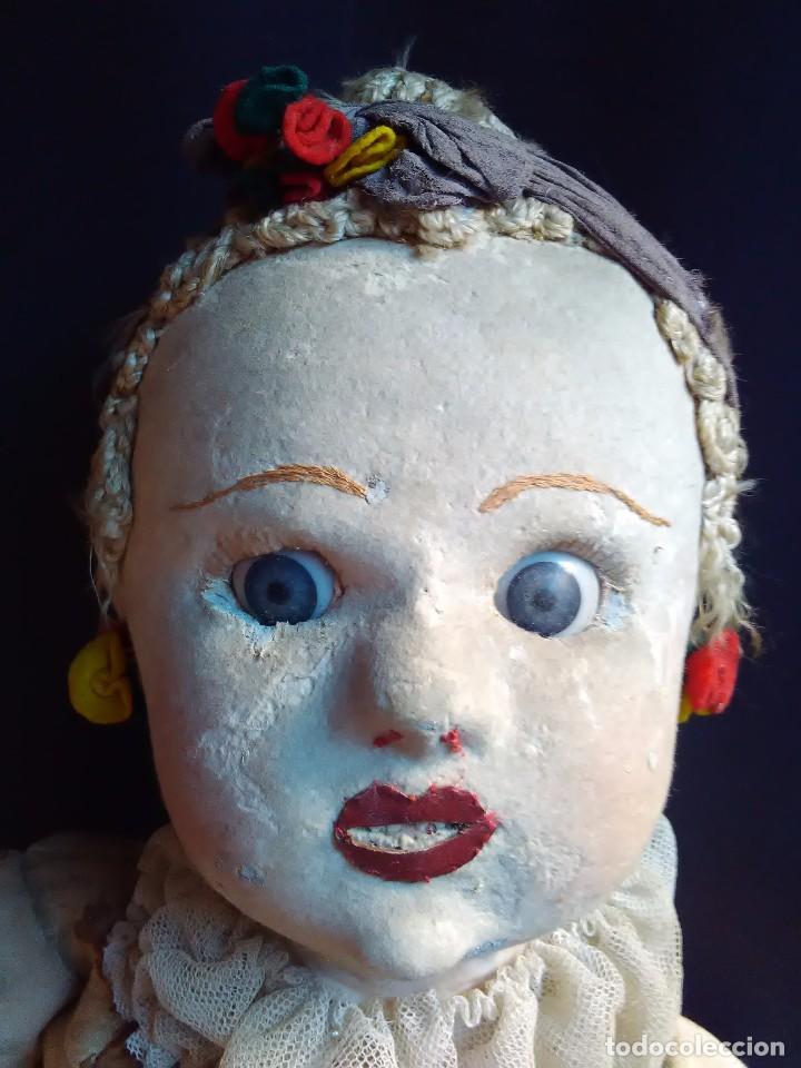 ANTIGUA MUÑECA DE TRAPO BRASILEÑA DE LOS AÑOS 30 DE 84 CM. (Juguetes - Muñeca Extranjera Antigua - Otras Muñecas)