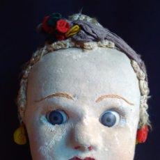 Muñecas Extranjeras: ANTIGUA MUÑECA DE TRAPO BRASILEÑA DE LOS AÑOS 30 DE 84 CM.. Lote 64164215