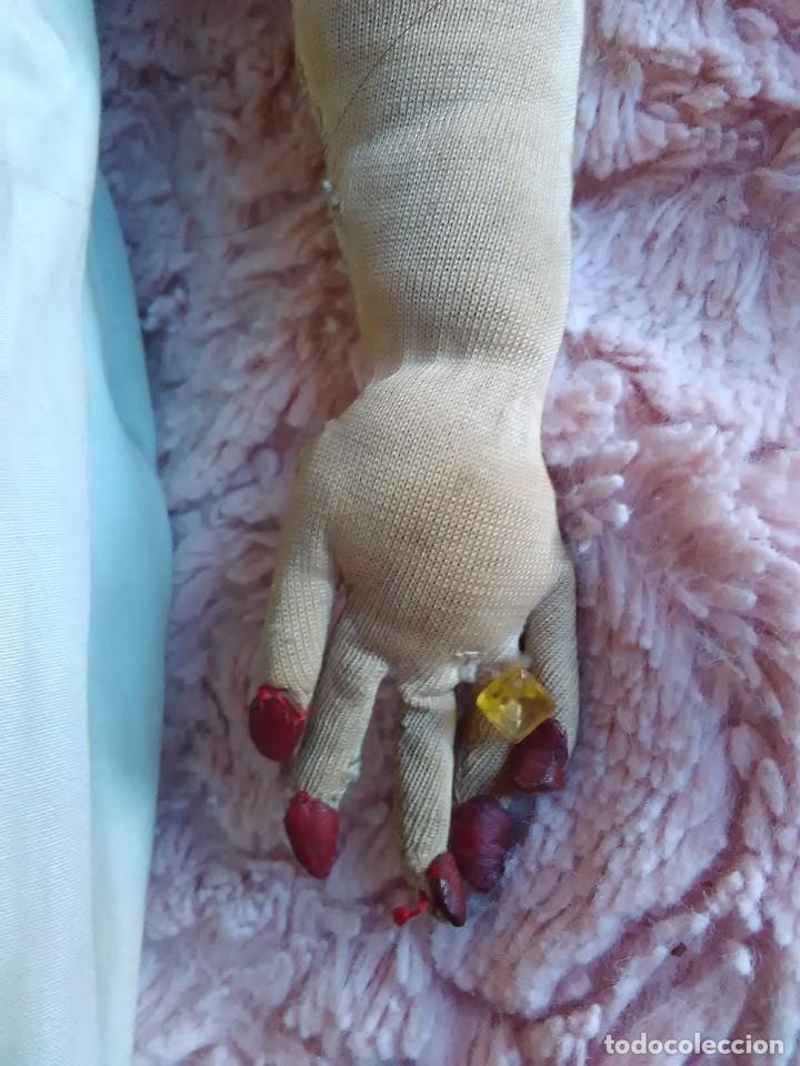 Muñecas Extranjeras: Antigua muñeca de trapo brasileña de los años 30 de 84 cm. - Foto 6 - 64164215