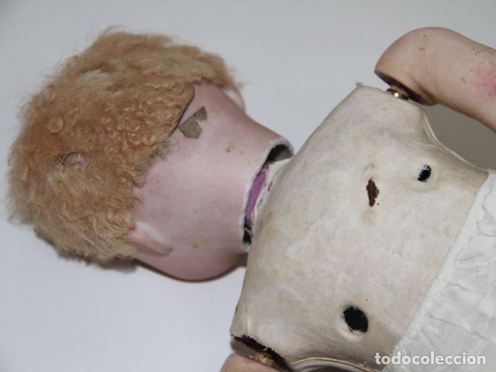 Muñecas Extranjeras: MU140 MUÑECA AUTÓMATA. PORCELANA, COMPOSICIÓN Y CABRITILLA. FUNCIONA. S. XIX - Foto 16 - 65752962