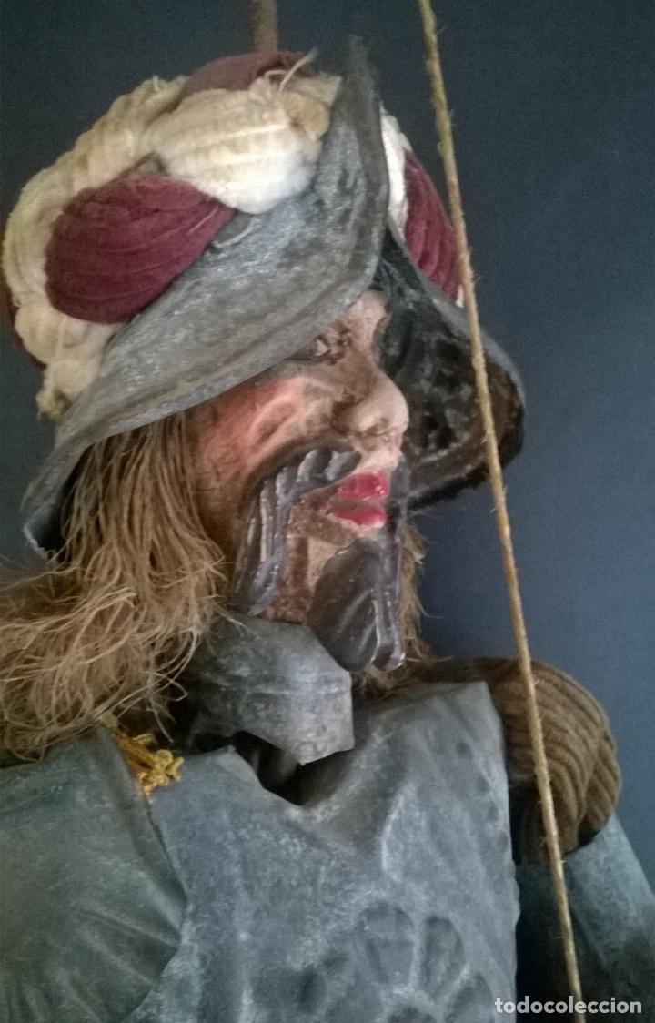 Muñecas Extranjeras: ANTIGUO TÍTERE O MARIONETA DE VARILLA - PUPI SICILIANA ORIGINAL S. XIX. - Foto 2 - 67177233