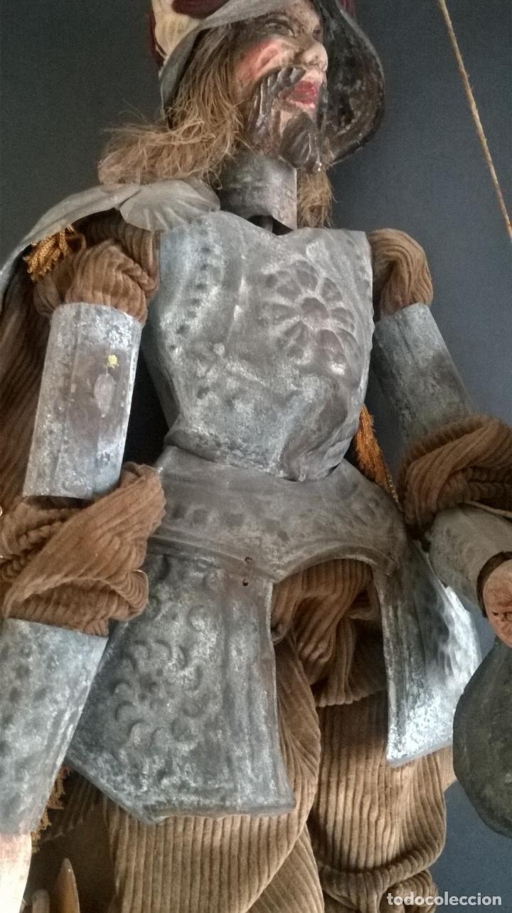 Muñecas Extranjeras: ANTIGUO TÍTERE O MARIONETA DE VARILLA - PUPI SICILIANA ORIGINAL S. XIX. - Foto 4 - 67177233