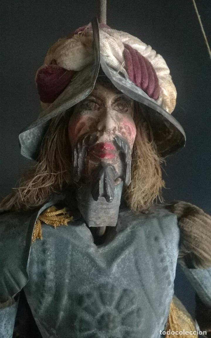 Muñecas Extranjeras: ANTIGUO TÍTERE O MARIONETA DE VARILLA - PUPI SICILIANA ORIGINAL S. XIX. - Foto 5 - 67177233