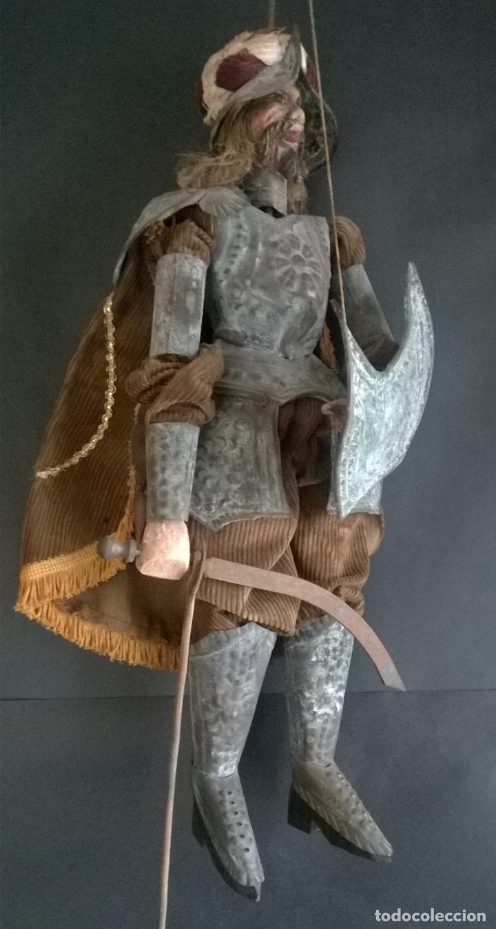 Muñecas Extranjeras: ANTIGUO TÍTERE O MARIONETA DE VARILLA - PUPI SICILIANA ORIGINAL S. XIX. - Foto 9 - 67177233