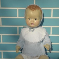 Muñecas Extranjeras: MUÑECO BEBÉ INGLÉS SAROLD DE MARCA BRITISH MADE, ANTIGUO DE 60 CM. Lote 68836609