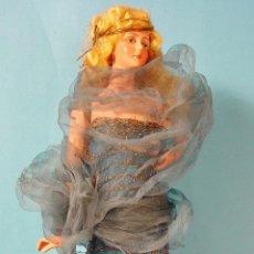 Muñecas Extranjeras: ANTIGUA MUÑECA TIPO BOUDOIR. AÑOS 20. FRANCIA. ART DECO. 31 CM ALTURA. Lote 74031055
