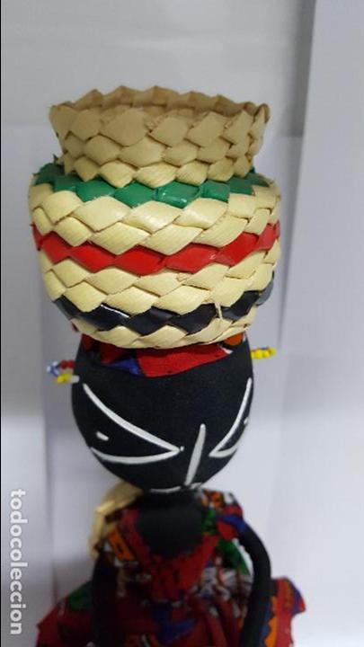 Muñecas Extranjeras: AUTENTICA MUÑECA REGIONAL DEL AFRICA EN PERFECTO ESTADO - EN PERFECTO ESTADO - NUEVA - - Foto 2 - 74293687