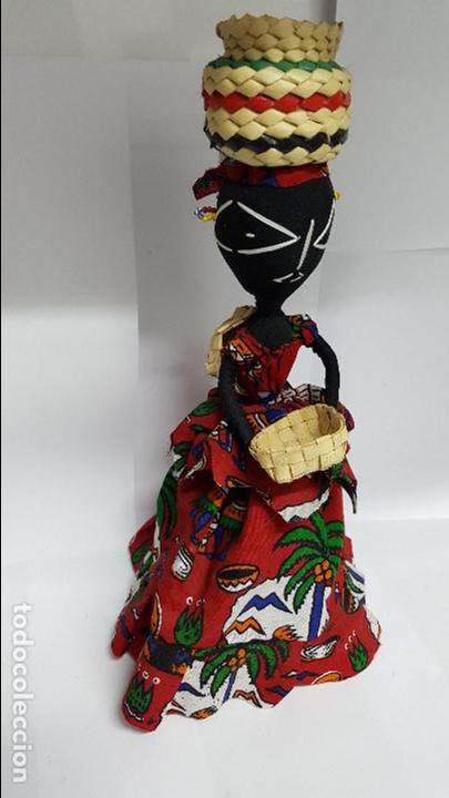 Muñecas Extranjeras: AUTENTICA MUÑECA REGIONAL DEL AFRICA EN PERFECTO ESTADO - EN PERFECTO ESTADO - NUEVA - - Foto 3 - 74293687