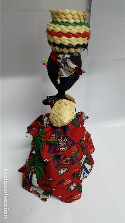 Muñecas Extranjeras: AUTENTICA MUÑECA REGIONAL DEL AFRICA EN PERFECTO ESTADO - EN PERFECTO ESTADO - NUEVA - - Foto 4 - 74293687