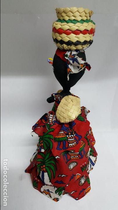 Muñecas Extranjeras: AUTENTICA MUÑECA REGIONAL DEL AFRICA EN PERFECTO ESTADO - EN PERFECTO ESTADO - NUEVA - - Foto 5 - 74293687