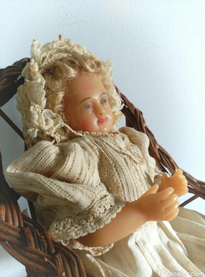 MUÑECA CERA ANTIGUA S XIX PIEROTTI? (Juguetes - Muñeca Extranjera Antigua - Otras Muñecas)