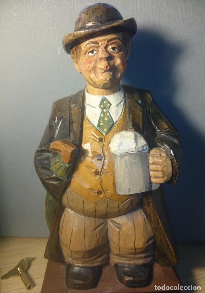 Muñecas Extranjeras: Karl Griesbaum Autómata silbador whistler automaton PERFECTO - Foto 9 - 75562971