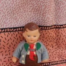 International Dolls - MUÑECA MUÑECO GOMA ALEMAN EN MINIATURA PARA CASA DE MUÑECAS - 79912205