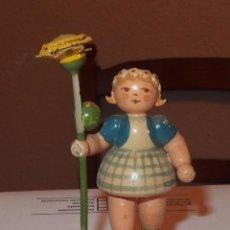 Muñecas Extranjeras: MUÑECA GORDITA,GERMANY,AÑOS 40 Ó 50. Lote 80683662