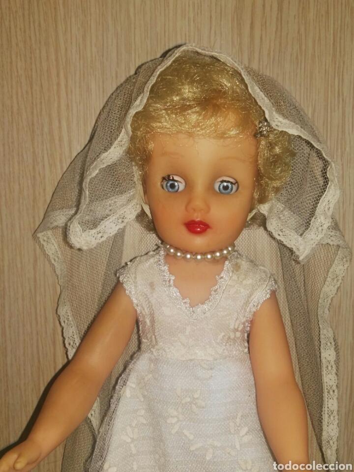 Muñecas Extranjeras: ANTIGUA Y MARAVILLOSA MUÑECA AÑOS 50-60 INGLESA VESTIDA DE NOVIA.DIVINA! MUY DIFICIL! MUCHAS FOTOS. - Foto 2 - 83188046