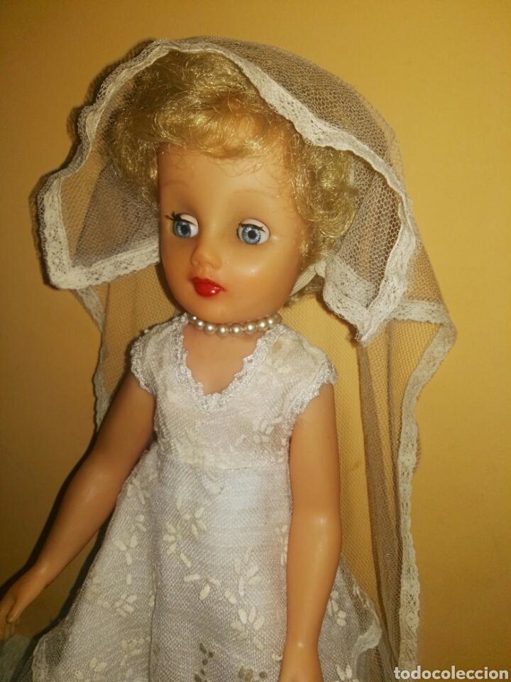 Muñecas Extranjeras: ANTIGUA Y MARAVILLOSA MUÑECA AÑOS 50-60 INGLESA VESTIDA DE NOVIA.DIVINA! MUY DIFICIL! MUCHAS FOTOS. - Foto 4 - 83188046