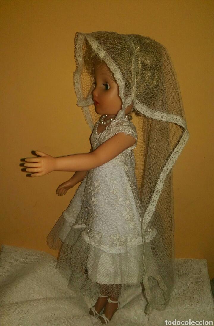 Muñecas Extranjeras: ANTIGUA Y MARAVILLOSA MUÑECA AÑOS 50-60 INGLESA VESTIDA DE NOVIA.DIVINA! MUY DIFICIL! MUCHAS FOTOS. - Foto 6 - 83188046