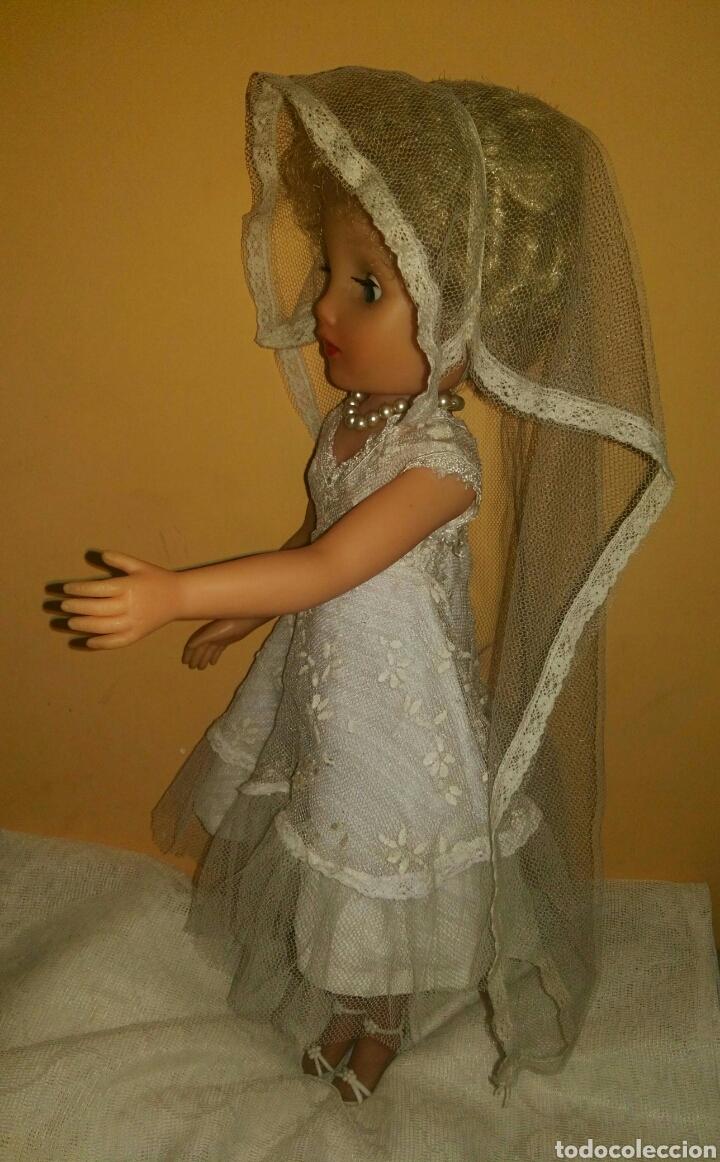 Muñecas Extranjeras: ANTIGUA Y MARAVILLOSA MUÑECA AÑOS 50-60 INGLESA VESTIDA DE NOVIA.DIVINA! MUY DIFICIL! MUCHAS FOTOS. - Foto 7 - 83188046