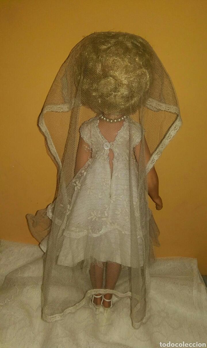 Muñecas Extranjeras: ANTIGUA Y MARAVILLOSA MUÑECA AÑOS 50-60 INGLESA VESTIDA DE NOVIA.DIVINA! MUY DIFICIL! MUCHAS FOTOS. - Foto 8 - 83188046