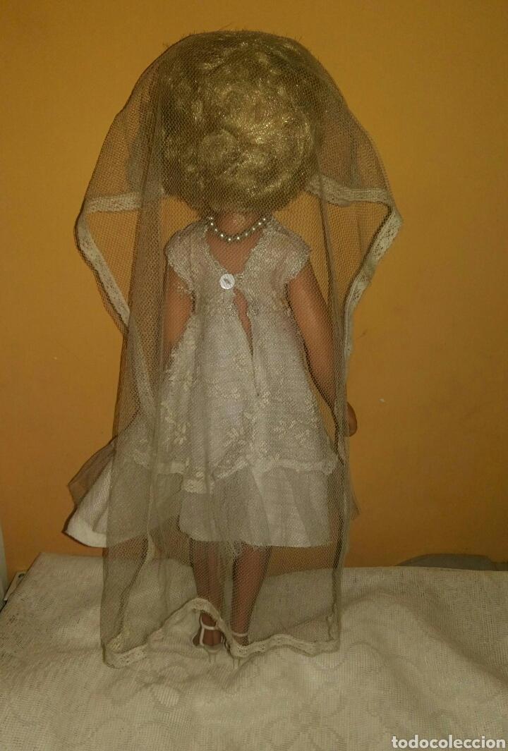 Muñecas Extranjeras: ANTIGUA Y MARAVILLOSA MUÑECA AÑOS 50-60 INGLESA VESTIDA DE NOVIA.DIVINA! MUY DIFICIL! MUCHAS FOTOS. - Foto 21 - 83188046