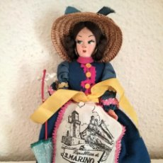 Muñecas Extranjeras: MUÑECA RECUERDO DE SAN MARINO TIPO LENCI DOLL POUPPE . Lote 83851808