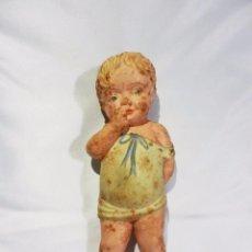Muñecas Extranjeras: RARA Y BELLA MUÑECA AÑOS 40 DE LAS DE GOMA, DE LAS PRIMERAS SQUEEZE DOLL. Lote 85412436