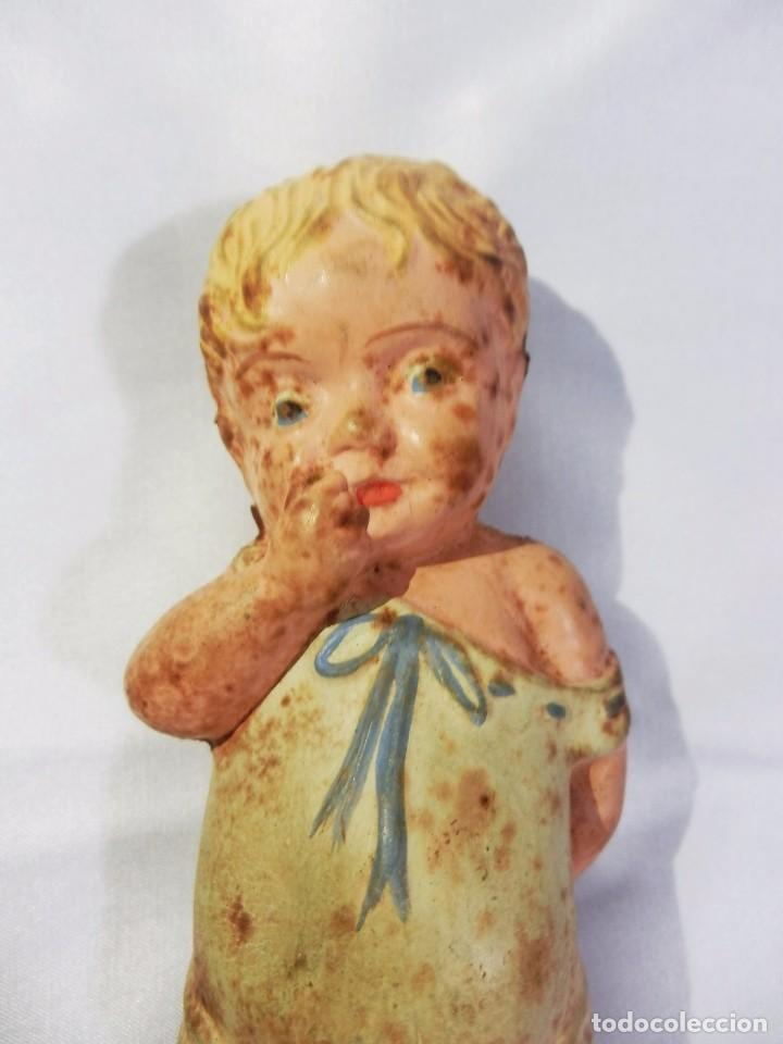 Muñecas Extranjeras: Rara y bella muñeca años 40 de las de goma, de las primeras SQUEEZE DOLL - Foto 5 - 85412436