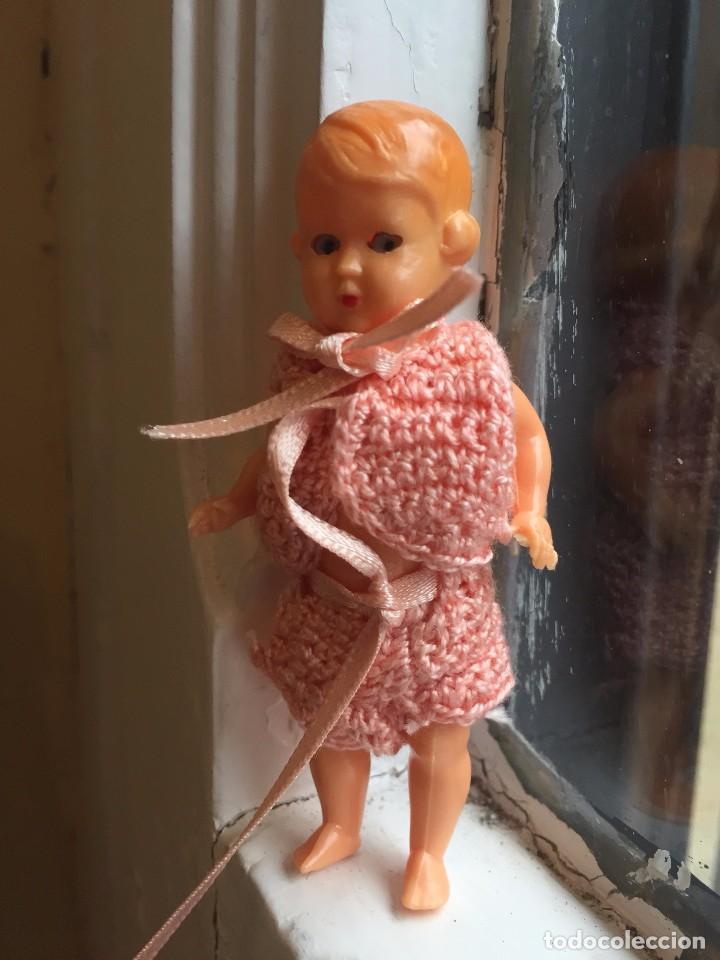 Muñecas Extranjeras: Pequeña muñeca italiana de celuloide con ojos móviles - Foto 2 - 85423668