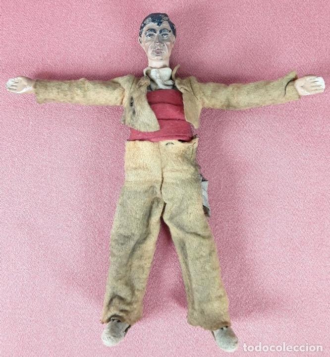 Muñecas Extranjeras: MUÑECO ARTICULADO. HOJALATA Y METAL. SABA BUCHERER. SUIZA. CIRCA 1920. - Foto 2 - 87395204