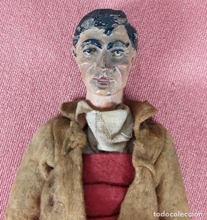 Muñecas Extranjeras: MUÑECO ARTICULADO. HOJALATA Y METAL. SABA BUCHERER. SUIZA. CIRCA 1920. - Foto 3 - 87395204