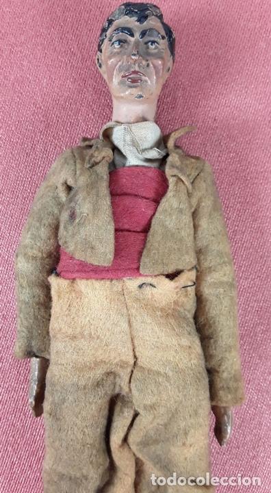 Muñecas Extranjeras: MUÑECO ARTICULADO. HOJALATA Y METAL. SABA BUCHERER. SUIZA. CIRCA 1920. - Foto 4 - 87395204