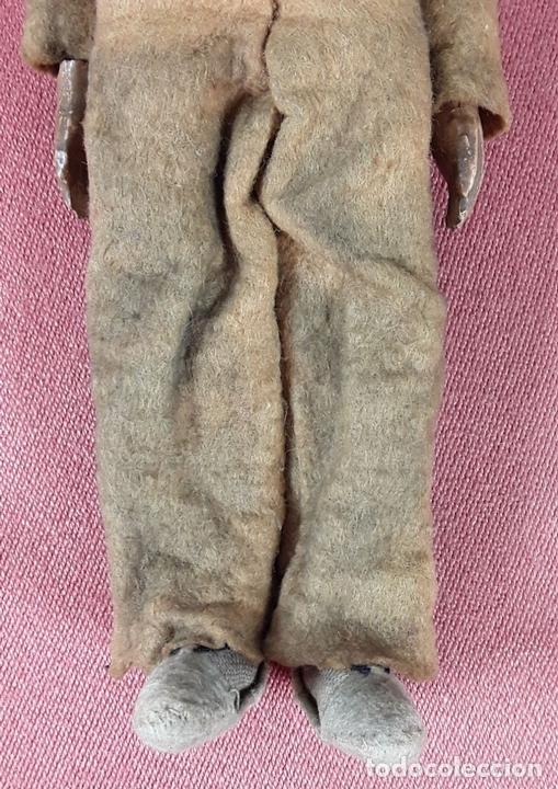 Muñecas Extranjeras: MUÑECO ARTICULADO. HOJALATA Y METAL. SABA BUCHERER. SUIZA. CIRCA 1920. - Foto 5 - 87395204