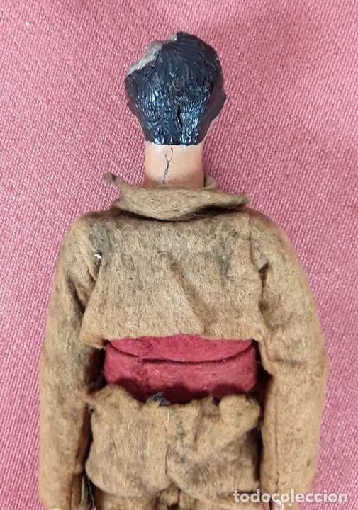 Muñecas Extranjeras: MUÑECO ARTICULADO. HOJALATA Y METAL. SABA BUCHERER. SUIZA. CIRCA 1920. - Foto 6 - 87395204