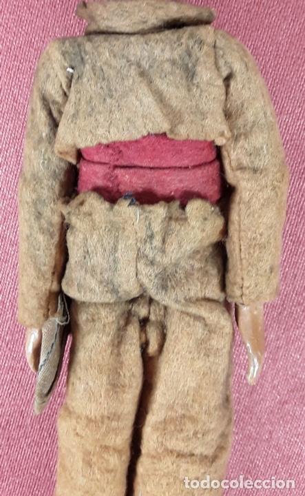 Muñecas Extranjeras: MUÑECO ARTICULADO. HOJALATA Y METAL. SABA BUCHERER. SUIZA. CIRCA 1920. - Foto 7 - 87395204