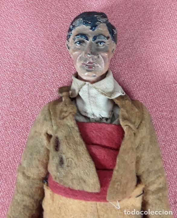 Muñecas Extranjeras: MUÑECO ARTICULADO. HOJALATA Y METAL. SABA BUCHERER. SUIZA. CIRCA 1920. - Foto 9 - 87395204