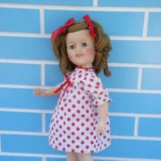 Muñecas Extranjeras: MUÑECA AMERICANA SHIRLEY TEMPLE DE IDEAL AÑOS 50. Lote 89422456