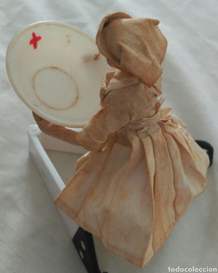 Muñecas Extranjeras: ANTIGUA MUÑECA ENFERMERA CON SU PONCHERA. TODA ORIGINAL - Foto 8 - 90788482