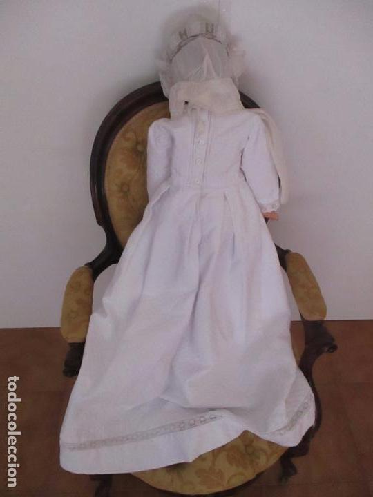 Muñecas Extranjeras: Bonita Gran Muñeca Antigua - Francesa - Cartón Piedra - 78 cm Altura - Año 1910 - 20 - Foto 9 - 91728955