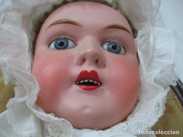 Muñecas Extranjeras: Bonita Gran Muñeca Antigua - Francesa - Cartón Piedra - 78 cm Altura - Año 1910 - 20 - Foto 21 - 91728955