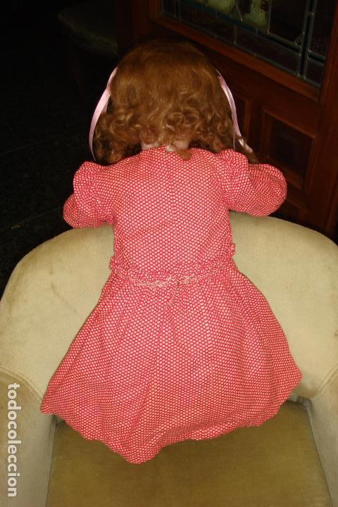 Muñecas Extranjeras: ANTIGUA MUÑECA ARTICULADA EDUARDO JUAN. CABEZA PORCELANA MADE AUSTRIA.ALT68cm. MOLDE 1904.Nº12.C1900 - Foto 4 - 94553503