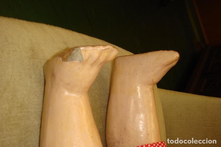 Muñecas Extranjeras: ANTIGUA MUÑECA ARTICULADA EDUARDO JUAN. CABEZA PORCELANA MADE AUSTRIA.ALT68cm. MOLDE 1904.Nº12.C1900 - Foto 9 - 94553503