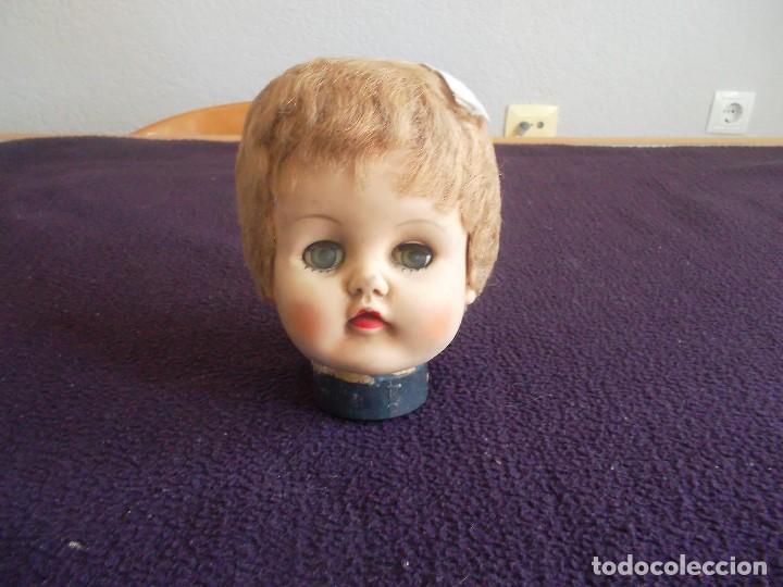 Muñecas Extranjeras: lote de 3 cabezas de muñeca americana años 1920, - Foto 3 - 94977059