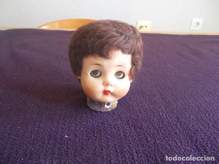 Muñecas Extranjeras: lote de 3 cabezas de muñeca americana años 1920, - Foto 5 - 94977059